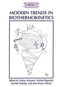 Modern Trends in Biothermokinetics