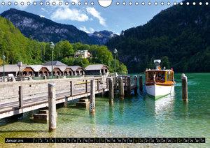 St. Bartholomä und der Königssee (Wandkalender 2019 DIN A4 quer)