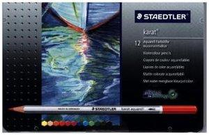 Farbstift karat aquarell, 12er Blechetui