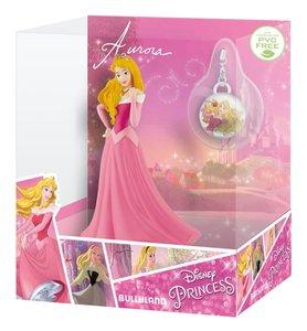 Bullyland 13421 - Disney Princess, Aurora mit Schmuckanhänger, S