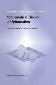 Mathematical Theory of Optimization