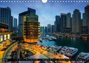 Dubai Wüstenstadt (Wandkalender 2019 DIN A4 quer)