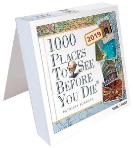 Tageskalender 2019 - 1000 Places To See Before You Die
