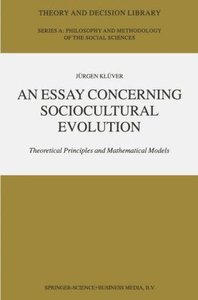 An Essay Concerning Sociocultural Evolution