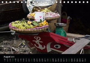 Märkte in Vietnam (Tischkalender 2019 DIN A5 quer)
