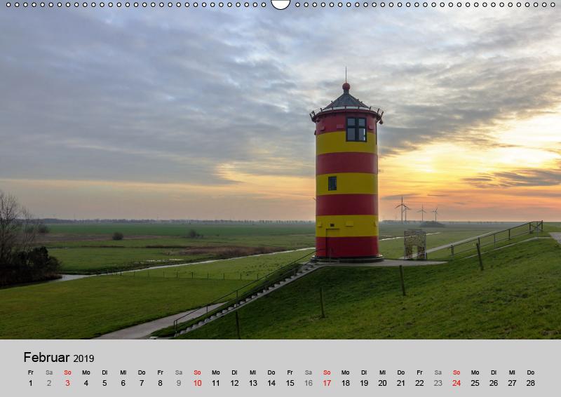 OSTFRIESLAND Strand und Mee(h)r (Wandkalender 2019 DIN A2 quer) - zum Schließen ins Bild klicken