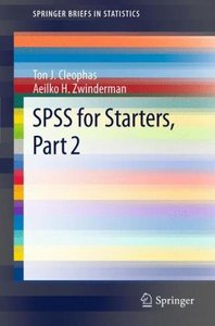 SPSS for Starters, Part 2