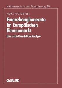 Finanzkonglomerate im Europäischen Binnenmarkt