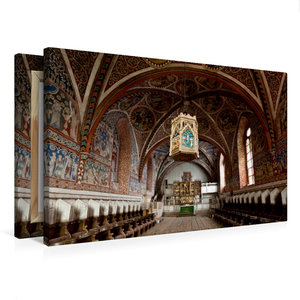 Premium Textil-Leinwand 75 cm x 50 cm quer Kloster Wienhausen, N