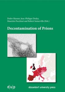 Decontamination of Prions