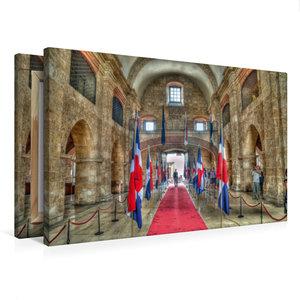 Premium Textil-Leinwand 75 cm x 50 cm quer Panteon Nacional * Na