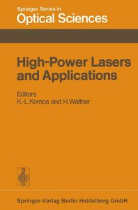 High-Power Lasers and Applications