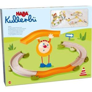 HABA 303051 - Kullerbü, Ergänzungsset Kurven & Co., Kugelbahn
