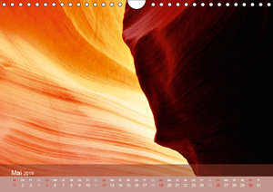 Der Antelope Canyon (Wandkalender 2019 DIN A4 quer)