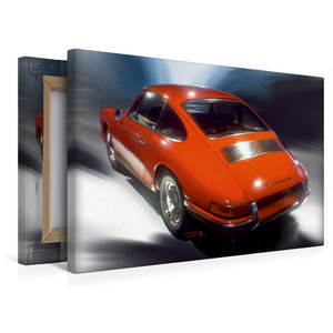 Premium Textil-Leinwand 45 cm x 30 cm quer Porsche 911