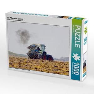 Der Pflug wird gedreht 1000 Teile Puzzle quer