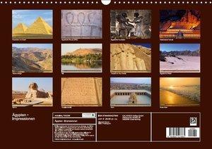 Ägypten . Impressionen (Wandkalender immerwährend DIN A3 quer)