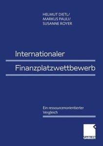 Internationaler Finanzplatzwettbewerb