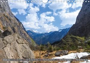 Wandern am Königssee (Wandkalender 2020 DIN A4 quer)
