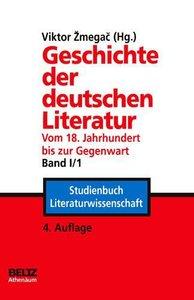 Geschichte der deutschen Literatur Band I/1