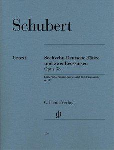 Sechzehn Deutsche Tänze und zwei Ecossaisen op. 33 (D 783)