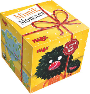 Geschenkwürfel - Mimikmonster