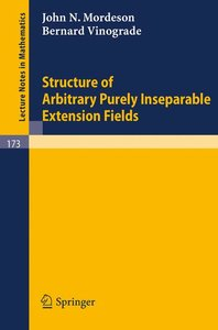 Structure of Arbitrary Purely Inseparable Extensions