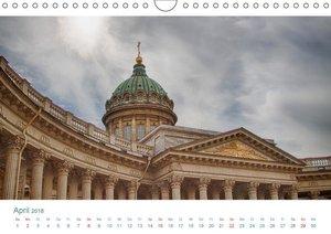 "Sankt Petersburg - \""Venedig des Nordens\"" (Wandkalender 2018 DI"