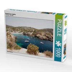 Bucht Cala Vadella 1000 Teile Puzzle quer