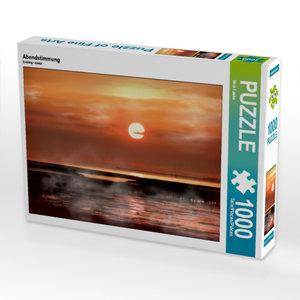 Abendstimmung 1000 Teile Puzzle quer