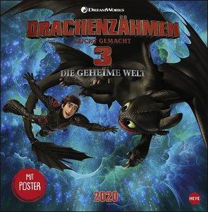 Dragons Broschurkalender Kalender 2020