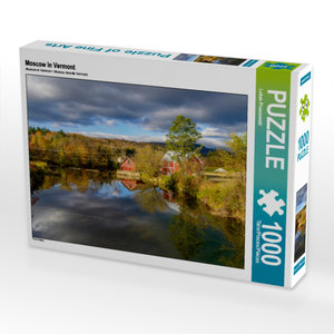 CALVENDO Puzzle Moscow in Vermont 1000 Teile Lege-Größe 64 x 48