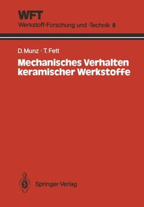 Mechanisches Verhalten keramischer Werkstoffe