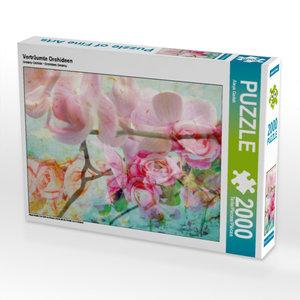CALVENDO Puzzle Verträumte Orchideen 2000 Teile Lege-Größe 90 x
