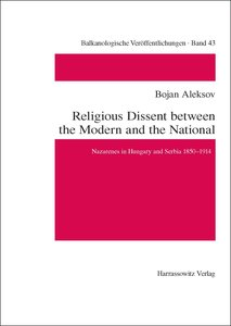 Religious Dissent between the Modern and the National