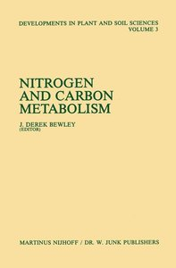Nitrogen and Carbon Metabolism