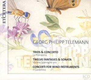 Trios & Concerto/Twelve Fantasies...