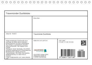 Travemünder Durchblicke (Tischkalender 2020 DIN A5 quer)