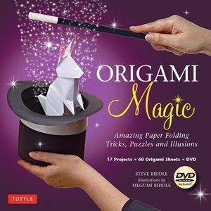 Origami Magic Kit: Amazing Paper Folding Tricks, Puzzles and Ill