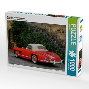 Mercedes 300 SL Roadster 1000 Teile Puzzle quer