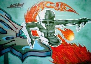 Graffiti - Kunst aus der Dose II (Posterbuch DIN A3 quer)