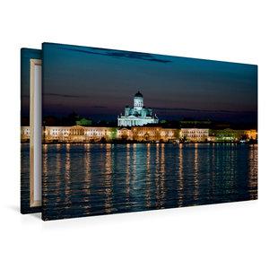 Premium Textil-Leinwand 120 cm x 80 cm quer Helsinki