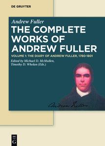 The Diary of Andrew Fuller, 1780-1801