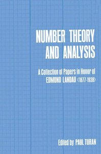 Number Theory and Analysis