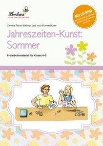 Jahreszeiten-Kunst: Sommer (Set)