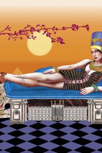 Premium Textil-Leinwand 50 cm x 75 cm hoch das Stadtschloss mit