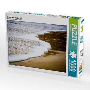 Strand bei Lincoln City 1000 Teile Puzzle quer