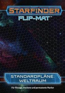 Starfinder Flip-Mat: Einfaches Sternenfeld