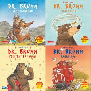 Maxi-Pixi-Serie Nr. 40: 4er Bundle: Dr. Brumm
