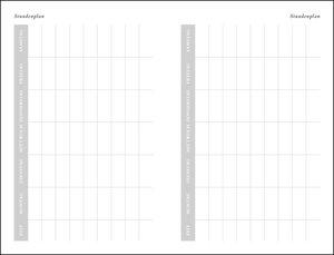 Diario 17-Monats-Kalenderbuch A6, rot Kalender 2020